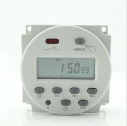 Wholesale Ac Timers - New 12V 16A Time LCD Digital Power Programmable Timer AC Relay Switch 200v  12v 24v  110v