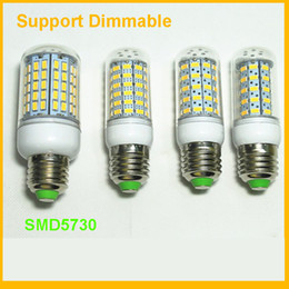 Wholesale Led G9 9w - 2016 New led e27 bulb 360 degree corn lamp G9 E14 SMD5730 8W 9W 10W 12W Warm White Wihte AC110-240V UL CE