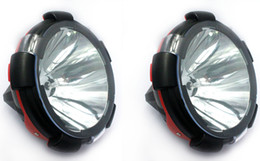 """Wholesale Offroad Spotlights - PAIR 55W 210mm 9"""" inch HID XENON DRIVING LIGHTS SPOTLIGHTS Spot PENCIL LIGHT OFFROAD Lights US & AU Stokc Ship from USA"""