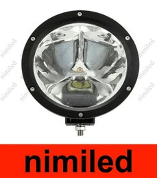 foco led 4x4 redondo Rebajas El Cree redondo de UTV llevó la luz para el camión campo a través de la luz 4W4 del trabajo ATV AWD 12V / 24V de la luz del trabajo de 45W 4X4 spot 30 grados 4500lm 3X15W HSA1928
