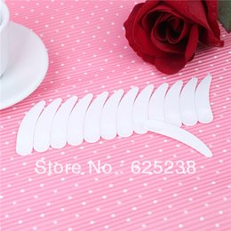 Wholesale Wholesale Disposable Mask - Free shipping 200pcs mini disposable white plastic cosmetic scoop cream scoop makeup scoop cosmetic spatula mask spatula