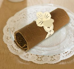 Wholesale Cutting Tables Wholesale - 2016 Hot sale paper cutting wholesale factory customized crystal rhinestone napkin ring for wedding table decoration