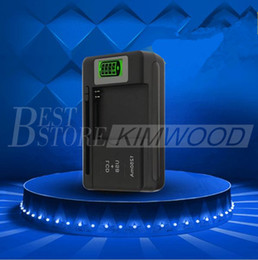 Wholesale S4 Battery Dock - Universal LCD Screen USB AC Phone Battery Li-ion Home Wall Dock Travel Charger Samsung Galaxy S6 S4 S5 Note 4 Nokia, Huawei Cellphone