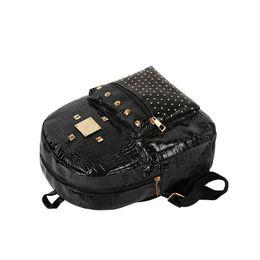 Wholesale Bookbags Women - hot 2018 new casual women rivets rucksack preppy style girls small bookbags female shopping bags ladies travel backpacks
