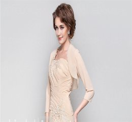 Wholesale Strapless Wedding Dresses Vests - 2015 The New Elderly With Custom New Bride Wedding Dress Vest Evening Dress In Her Mother