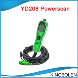 Wholesale Honda Diagnostic System Software - 2017 New arrival Autek Powerscan YD208 Electric Check Meter of Circuit Fail replace ps100 for Automobile Circuit Tester free shipping