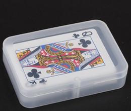 Коробки хранения PP прозрачные играя карточки пластичная коробка коробки хранения PP пакуя случай от Поставщики пластиковые карточные коробки