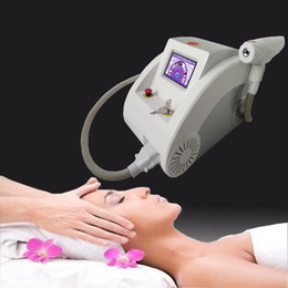 Wholesale Nd Yag Laser Tattoo Removal - 1000w touch screen nd yag laser beauty equipment scar freckle removal & scar acne tattoo remover