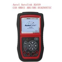 Wholesale Srs Scanning Tools - 2015 New Arrival Autel Autolink AL619 ABS   SRS + CAN OBDII Car Diagnostic Scan Tool Check Engine ABS SRS warning lights