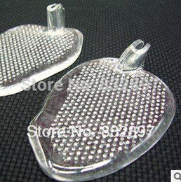 Semelle coussinets de gel en Ligne-En gros 10 paire de gel de silicone insère la moitié semelle coussin semelles de chaussures tampons soins des pieds Anti Slip demi yards pour accessoires de chaussures