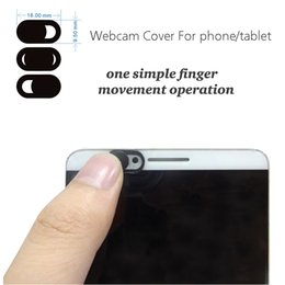 Wholesale Pc Webcams - Webcam cover for phone,Tablet pc,Laptop External Webcams Devices Protect your privacy Super Thin 1mm