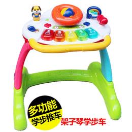 Wholesale Baby Walker Cart - Wholesale-Baby toddler stroller baby push walker cart walker multifunctional rack violin walker