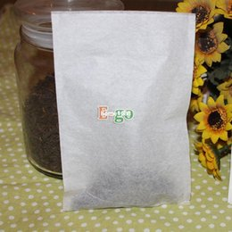"Wholesale Free Teapot - Free Shipping! High-Class 100pcs (L) 4""x6"" 100x150mm Empty Heat-Sealing Teabags, Flower or Herbal, Filter Paper Bags, for Teapot"