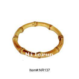 bracelet en bambou naturel véritable mode saine ? partir de fabricateur