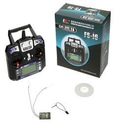 Wholesale Flysky Rc - FlySky FS-i6 2.4G 6CH AFHDS RC Transmitter With FS-iA6 Receiver MODE2