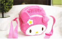 Wholesale Shop Wallets Men - Hot Selling Cartoon Melody bags Animal Shopping Bag Messenger Bags Shoulder Zip Coin Purse Wallet