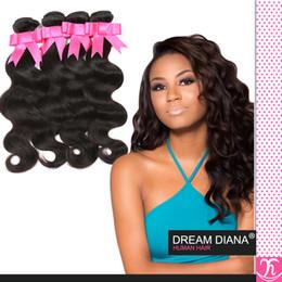 Wholesale Rosa Brazillian - Rosa Hair Products Brazilian Virgin Deep Body Wave Weave 4 Bundle Deals Grade 6a Brazillian Unprocessed Virgin Hair Cheveux Bresilien