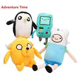 Wholesale Beemo Toy - Wholesale-2016 New Arriving 4 Styles Adventure Time Plush Toys Jake Finn Beemo BMO Penguin Gunter Stuffed Animals Plush Dolls Soft Toys