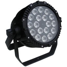 Wholesale Uv Led Par - Free shipping High quality Two years warranty 18x18W 6in1 RGBAW+UV Waterproof LED Par Light IP65 Outdoor
