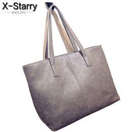 Wholesale Large Gray Handbag - Wholesale-free shipping 2016 autumn winter fashion formal women's vintage handbag brief one shoulder big bags gray  black large capacity
