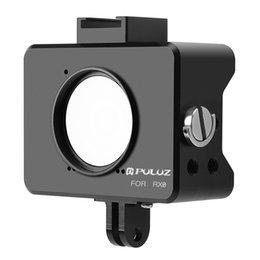 Wholesale cage house - PULUZ for Sony RX0 Housing Shell CNC Aluminum Alloy Protective Cage with 37mm UV Lens & Base Mount & Screw