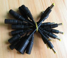 Canada 20 pcs Article DC 5.5 * 2.1mm Femelle à 5.0x3.0mm avec broche Mâle Alimentation pour Samsung ordinateur Extension Câble Adaptateur cordon Ligne de connecteur 10cm Offre