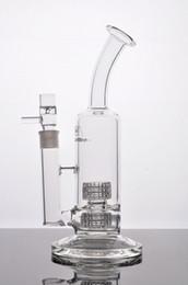 2016 água de vidro bongos Mobius estereofônicos matrizes de petróleo tubos de vidro bongs Stemless tubos com matriz estereoscópica Percolates comum 18,8 milímetros Frete Grátis