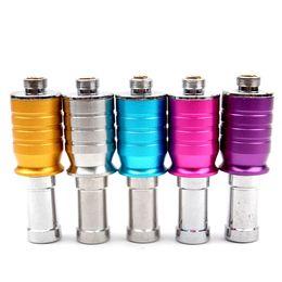 Wholesale Rebuildable Atomizer X6 - Colourful RAD cartomizer vaporizer mini rda clearomizer Rebuildable dry herb atomizer for X6 K100 KTS e cigarette ePacket Free (0203204) 1