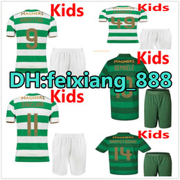 Wholesale Celtic Kits - 17 18 Celtic FC kids kits Soccer Jersey 2017 2018 Celtic Children Griffiths dembele Sinclair Rogic McGregor Roberts Forrest boys Jerseys
