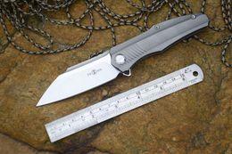 Wholesale Micarta Knife Handles - TWOSUN Knife TS50 D2 Blade Folding Knives Titanium alloy handle Camping Survival Tactical Knife Free Shipping