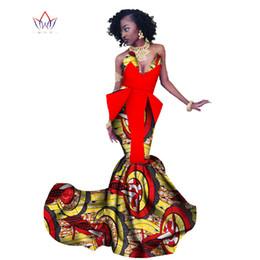 dd11826548e57 2018 Spring Africa Dress For Women Mermaid Long Dresses Formal Ankara  Fashion Dress African Cotton Print Wax Gown WY1300 inexpensive ankara  dresses