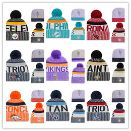 Wholesale More Free - Hot 2017 Newest Beanies Football Knit Hats Sports Cap The City Cap Mix Match Order All Caps in stock Top Quality Hat More 5000+Styles