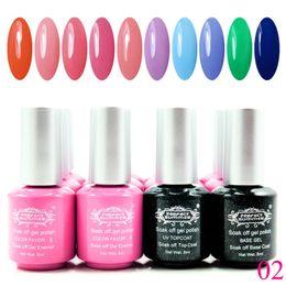 gel couleurs parfaites Promotion En gros-parfait été tremper hors gel polonais 240 couleurs vente chaude UV vernis à ongles longue durée gel vernis