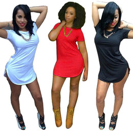 Wholesale Club Dresses Free Size - Wholesale-2016 Sexy Mini Club Party Dresses Women Irregularity Dress Summer Style Bandage Bodycon Beach Dress Plus Size Vestidos free ship