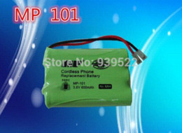 Wholesale Cordless Phone Rechargeable Battery - MP-101 Cordless Phone 3.6V 600mAh Ni-MH Rechargeable Battery batteri car battery charger for scooter battery charger for scooter