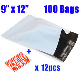 """Wholesale Wholesale Postage Bags - Wholesale- 9""""x12"""" Plastic Shipping Bags Envelopes Self-Seal Self Adhesive 23x30cm Mailing Bags Different Sizes Postal Envelopes Postage"""