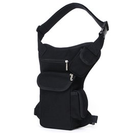 Wholesale Small Belt Bags - Men Waist Bags Canvas Leg Bags Outdoor Sports Camping Travel Bicycle Waist Pack Belt Bags High Quality Small Fanny Pack ZA0145 smileseller
