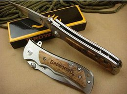 Wholesale Browning 339 - Free shipping. hot wholesale! browning 339 Pocket knife folding blade hunting knife Caming knife Pocket Folding knife