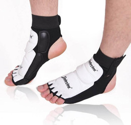 Wholesale Brand Guard - high qulity brand new Taekwondo foot wear fighting foot guard gear tae kwon do foot protector