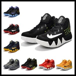 Wholesale Rubber Band Store - kyrie 4 Hot basketball shoes Christmas gift free shipping Top Quality Kyrie Irving Casual shoes store US7-US12