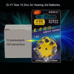 Wholesale Candle Performance - 100 PCS Pack ZLYY Peak Performance Hearing Aid Batteries. Zinc Air 100 A10 PR536 Battery for CIC Hearing aids. Free Shipping!