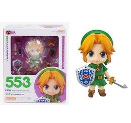 Wholesale Legend Zelda Accessories - Good Smile Nendoroid The Legend of Zelda Link Majora's Mask 3D Figure With Original Box Free Shipping