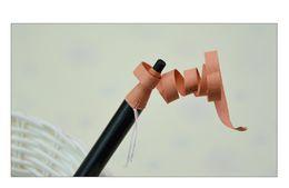 Papier crayon de couleur en Ligne-Nouveau 5pcs MIX COULEUR tatouage temporaire crayon à sourcils crayon étanche crayon à sourcils crayon stylo plume tatouage stylo livraison gratuite