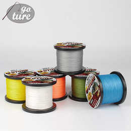 Wholesale Strong Fishing Wire - Goture 4 STRANDS Super Strong Japan Multifilament PE Braided Fishing Line 1000Meter Jig Carp Fish Line Wire