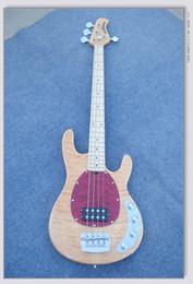 Cuerdas clásicas de la guitarra liberan el envío online-Envío gratis OEM Custom Shop natural 4 cuerdas bajo guitarra clásica venta caliente de calidad superior