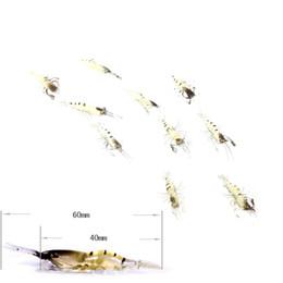 Wholesale Shrimp Smelling - 10Pcs Artificial Fishing Lure Bionic Shrimp Soft Bait Fishing Tackle Lifelike Fishy Smell Pesca Lures