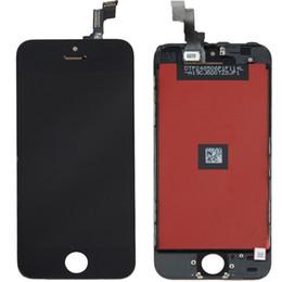 2019 iphone 5s digitizer ersatzgroßverkauf Schwarz / Weiß für iPhone 5S LCD-Bildschirm + Screen-Analog-Digital wandler + Rahmen-Ersatz-Versammlung + Öffnungswerkzeuge, die Großverkauf freeshipping sind günstig iphone 5s digitizer ersatzgroßverkauf