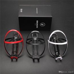 Wholesale water bottles cages - 2PCS 18g Durable SUPERLIGHT Lightweight Carbon fiber bottle cage matte black water holder water cages free shipping