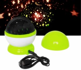 Wholesale Stage Decoration Children - Colorful Moon Star Turntable LED Night Light LED Stage Lamp With Music For Party Bar Valentine's Day Christmas Decoration Children' Toy Gift