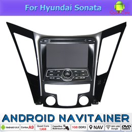 Wholesale View Specials - Android Quad Core Car Stereo Bluetooth In Car Dvd GPS Hyundai Sonata Sonata YF i40 i45 i50 (2011-2012) With AM FM Radio TV 3G